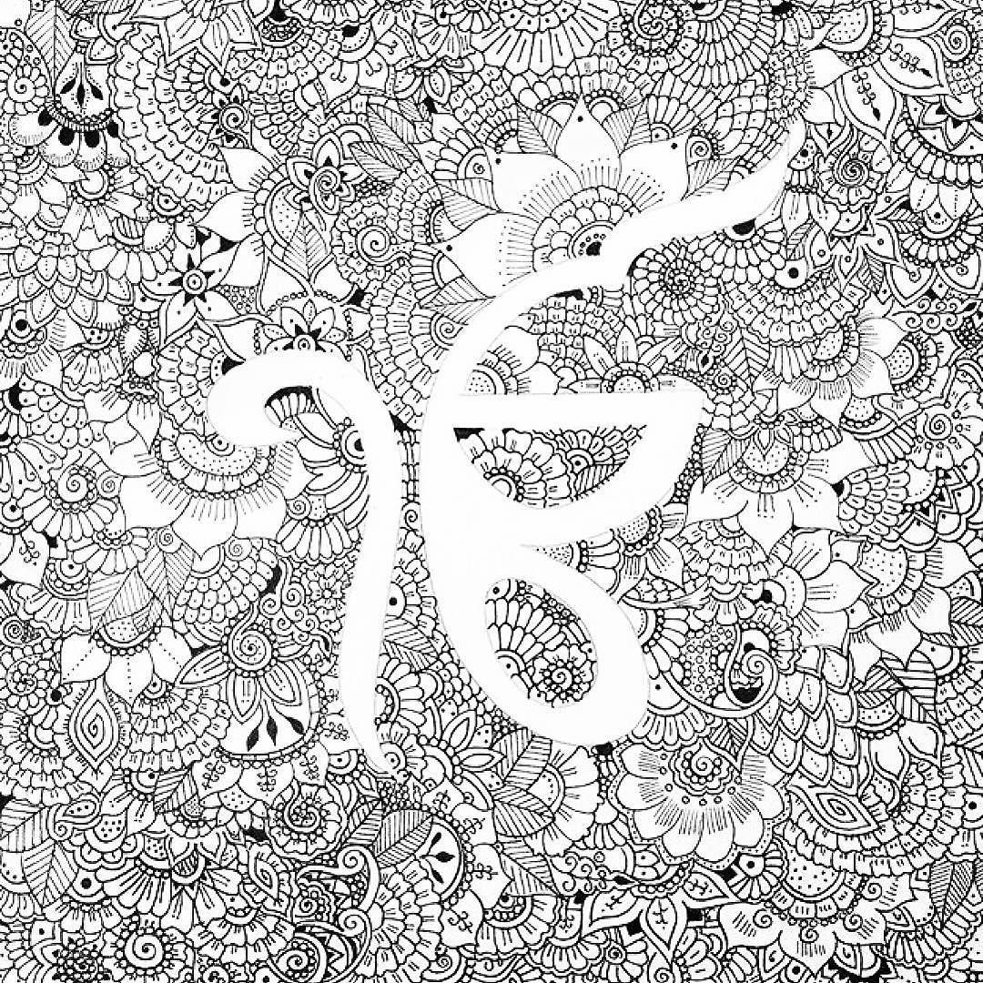 The Artist Canvas Beautifully Detailed Ek Onkar Drawing
