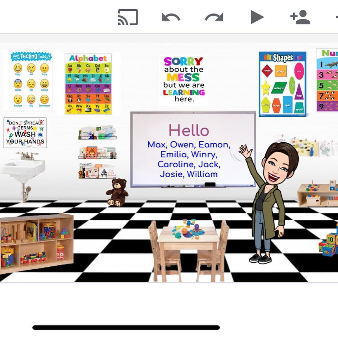 33 Awesome Ideas To Take Your Virtual Bitmoji Classrooms To The Next Level Classroom Banner Virtual Classrooms Digital Classroom