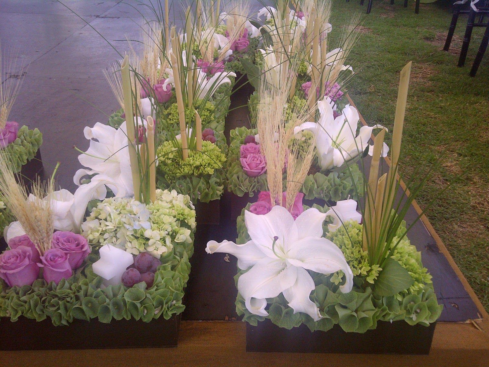 Centros De Mesa Para Primera Comunion Centros De Mesa De Flores Primera Comunion Decoracion Decoracion Con Flores