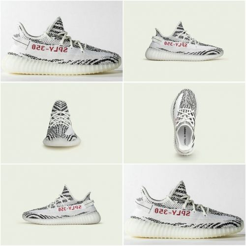 21a30fc4754bae 2018 Spring Summer Adidas Yeezy Boost 350 V2 White Core Black Red Zebra  CP9654 February 25 2017