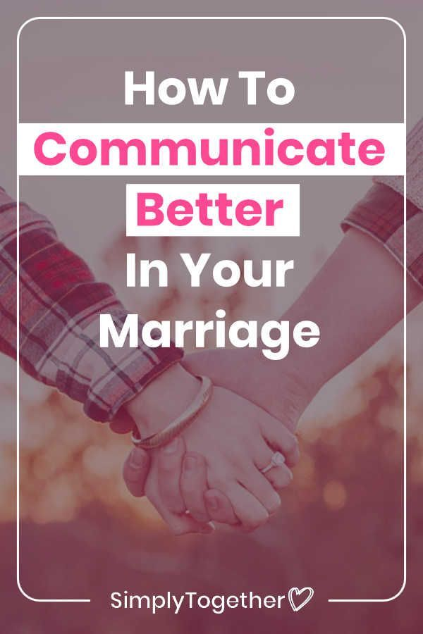 How to Improve Communication in Your Marriage It takes some effort to improve communication in a marriage or in long term relationships These are the three most important...