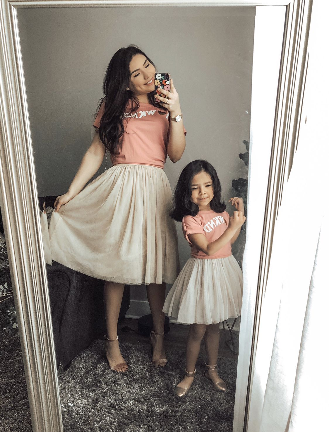 24++ Mommy and baby matching dress info