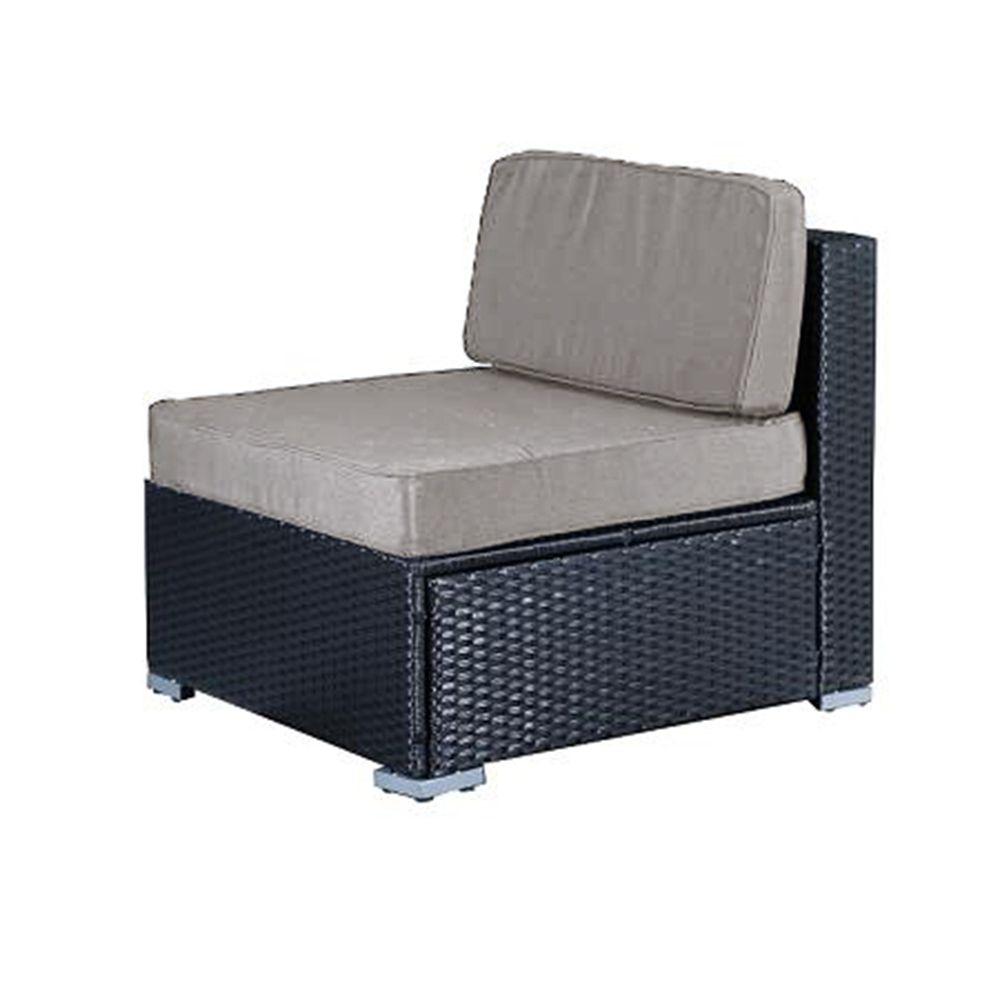 Buy Luxo Lanikai Outdoor Dining Middle Sofa Online ... on Luxo Living Outdoor id=55602
