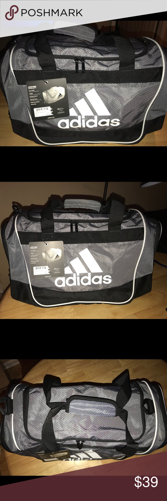 Adidas Defender II small duffle bag. PRICE DROP Brand new with tags PRICE  FIRM adidas 5249fbb080918