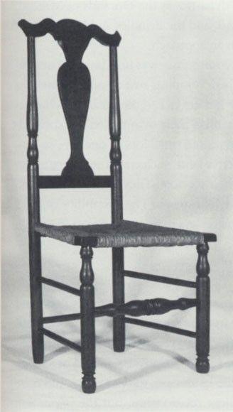 Fiddleback Chair, Woodbury, Connecticut, 1760u20131800. Maple, Yellow Poplar,