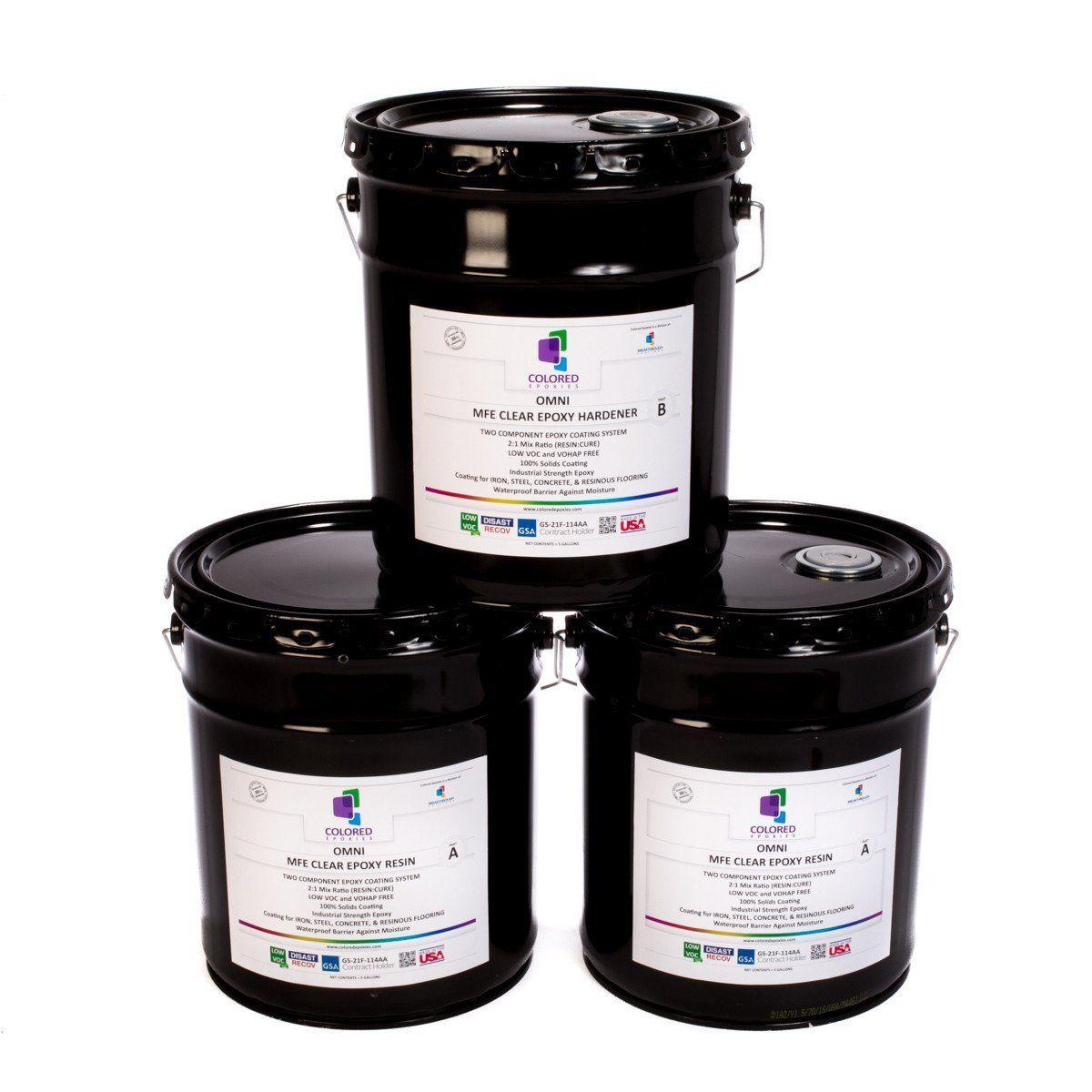 Clear Epoxy Resin, Colored Epoxy