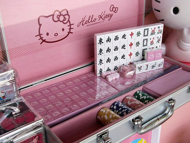 03a3ebfd704e Limited Edition Hello Kitty Mahjong Set...not a book but I would ...