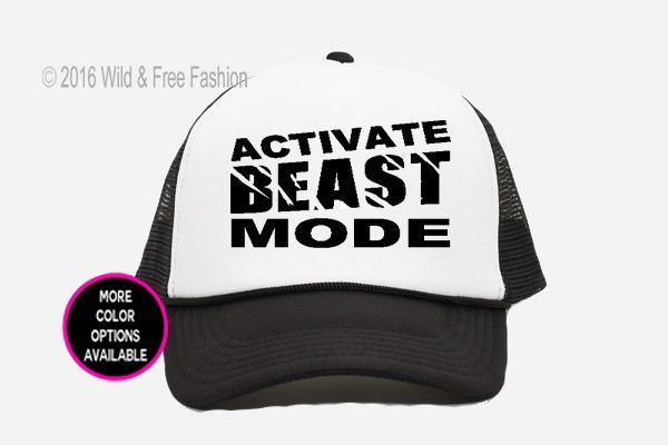 Beast Mode Activated Trucker Hat  ab8be7500986