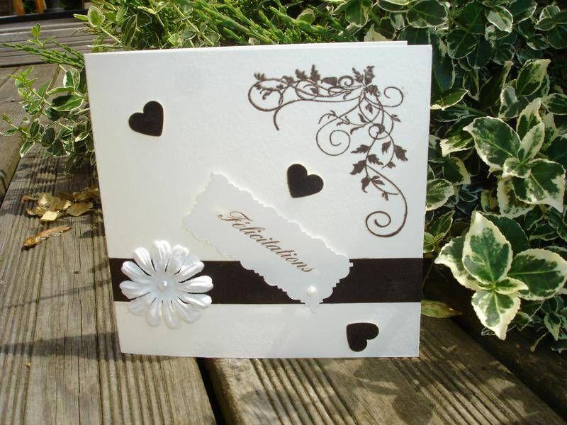 scrap carte mariage pinterest cartes pinterest carte de f licitation mariage. Black Bedroom Furniture Sets. Home Design Ideas