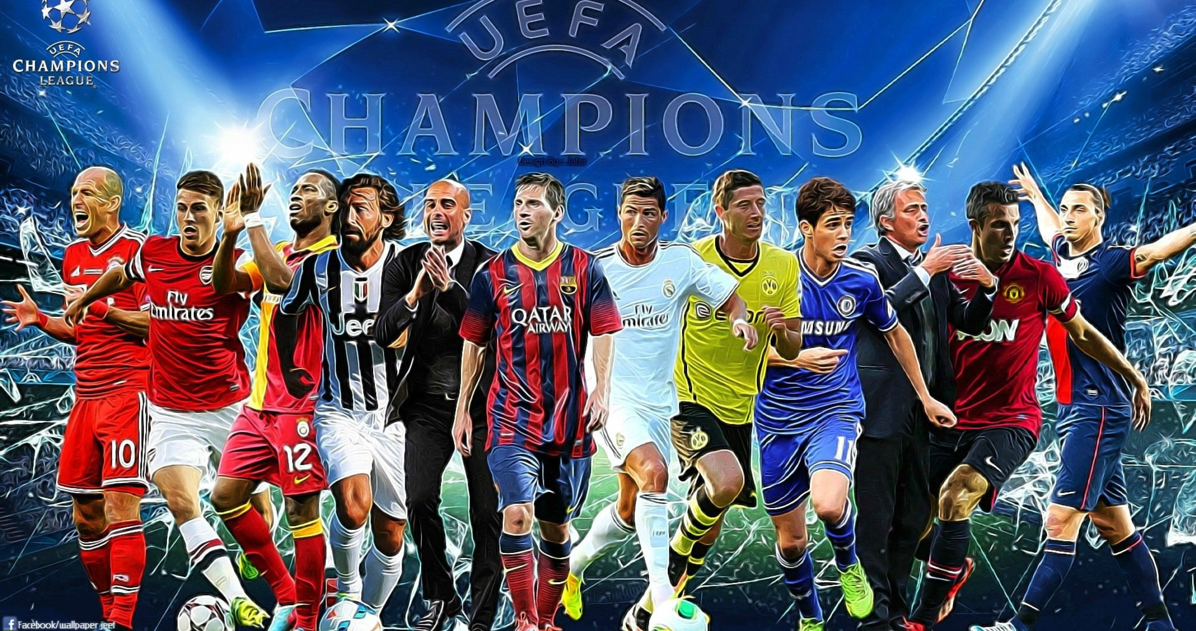 Uefa Champions League 2013 2014 4k Ultra Hd Wallpaper Uefa Champions League Champions League League
