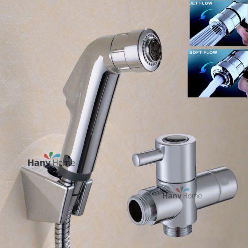 toilet multi function handheld bidet shower sprayer douche health rh pinterest com Bathroom Designs Bathroom Lighting