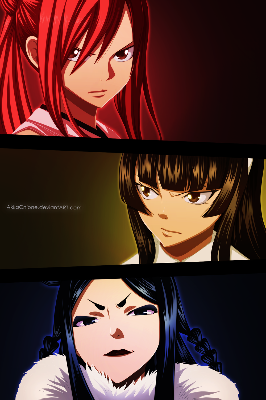 Fairy Tail: Erza Vs. Kagura - Is Time To Fight | Fairy