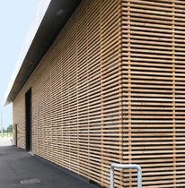 Exterior Wood Strip Cladding Wooden