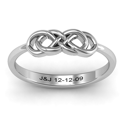 Infinity Knot Ring | Jewlr