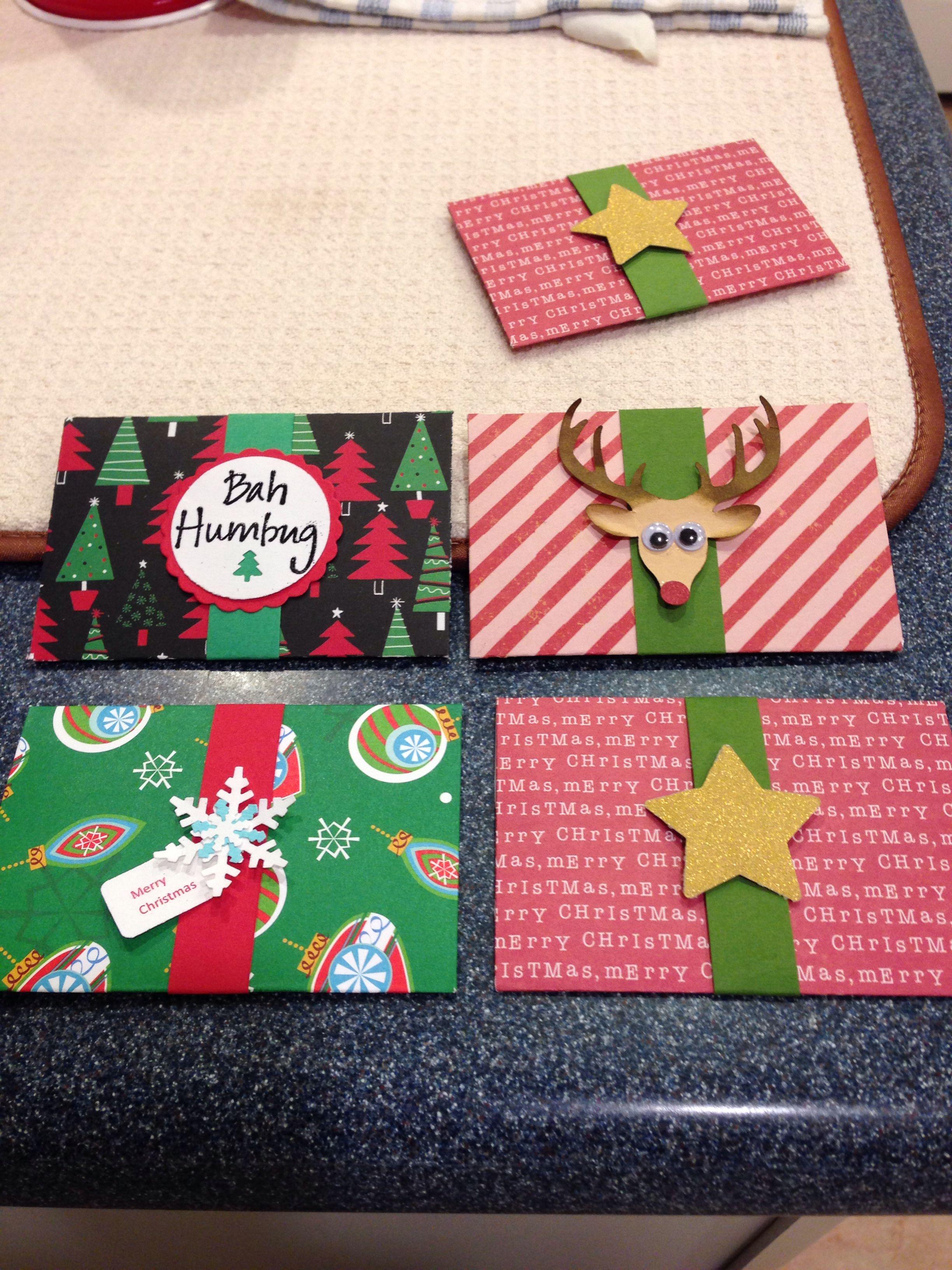 giftcard holders  gift card holder diy gift card diy