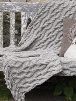 Free knitting pattern afghans blankets staggered cable throw free knitting pattern afghans blankets staggered cable throw dt1010fo
