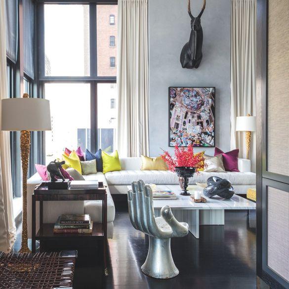 Trendy New York Apartment LIVING ROOM Pinterest New York UX UI Designe