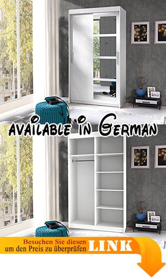 B07649K9XH  Kleiderschrank Schwebetürenschrank Schlafzimmerschrank - schlafzimmerschrank weiß hochglanz