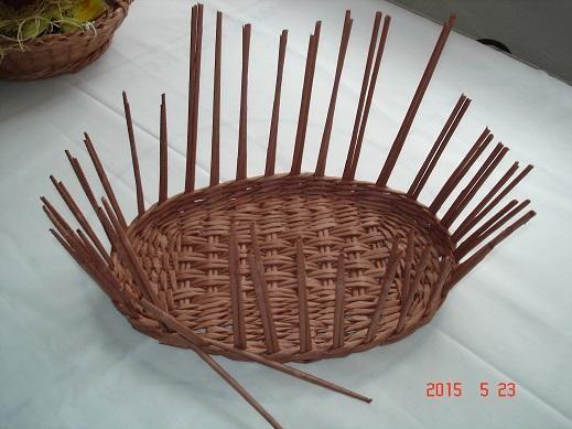 4bf5a40e6 Košík na nákup z papletu, fotopostup   Paplet návody   Paper basket ...