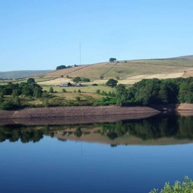 Garden Landscaping In Halifax Huddersfield West: There Are Short And Long Walks Round Digley Reservoir Nr