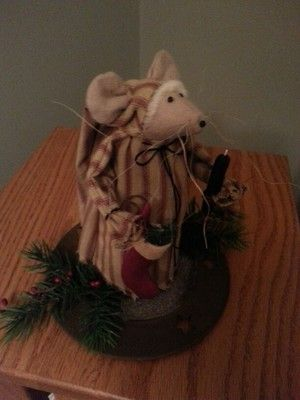 primitive nighttime mouse #mousecrafts