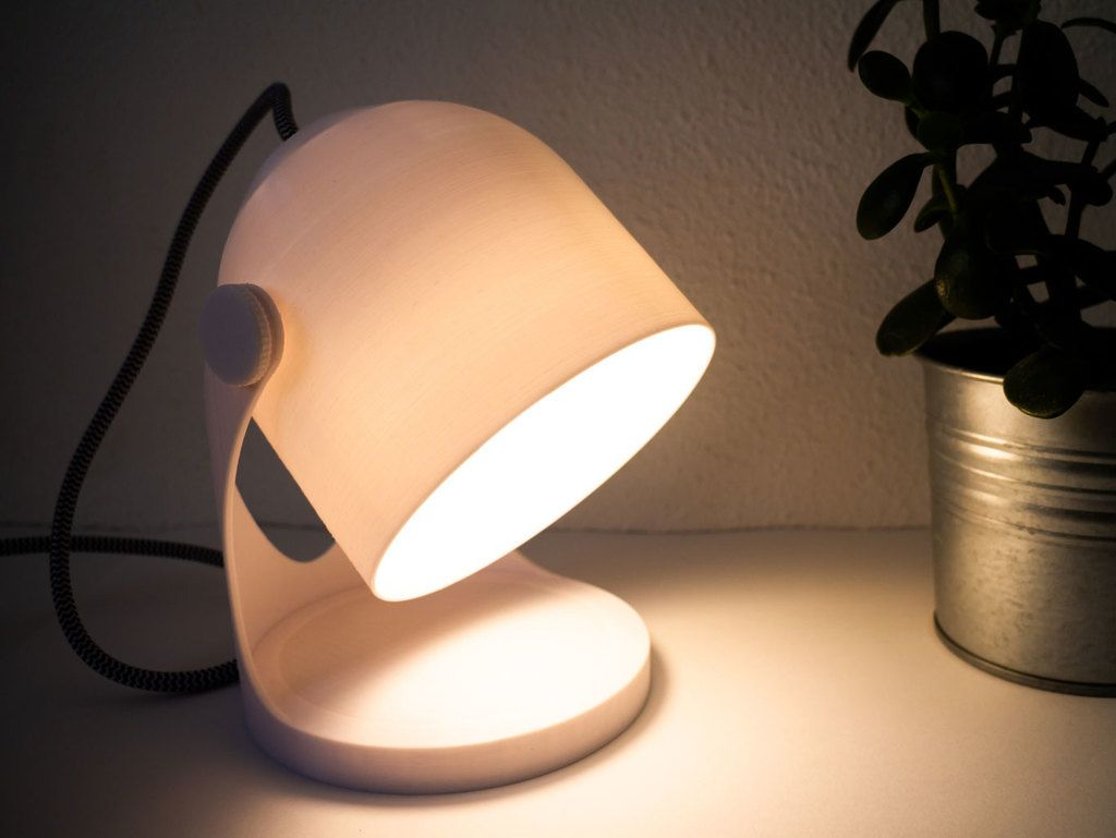 Minimal Bedside Lamp By Dedesigned Thingiverse Bedside Lamp Lamp Bedside Lamps Wood