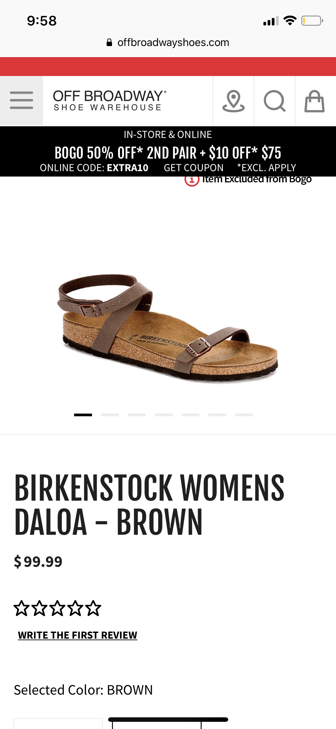 shoe warehouse birkenstock