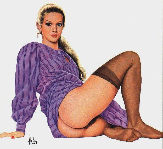 Erotic pinup art gallery
