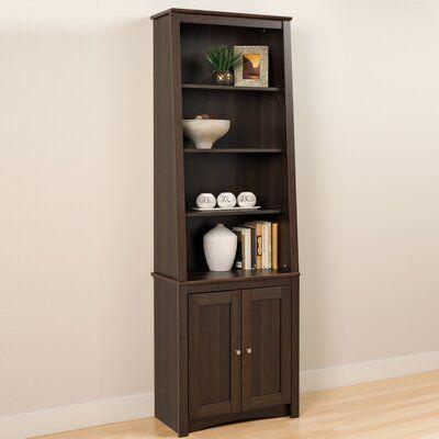 Zipcode Design Dowlen Standard Bookcase Shaker Doors Yes Shaker