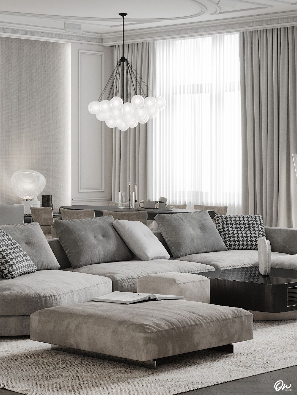 Living room grey in 2020 | Living room grey, Interior ...