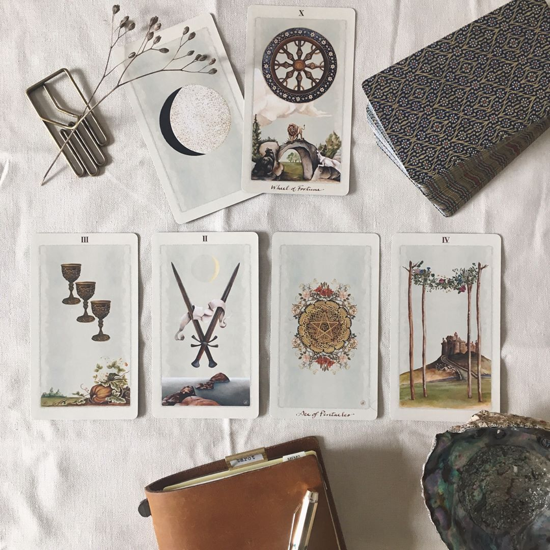 Interesting weekly tarot overview i pulled a card from