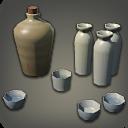 Sake Set Sake Set Sake Decorative Jars