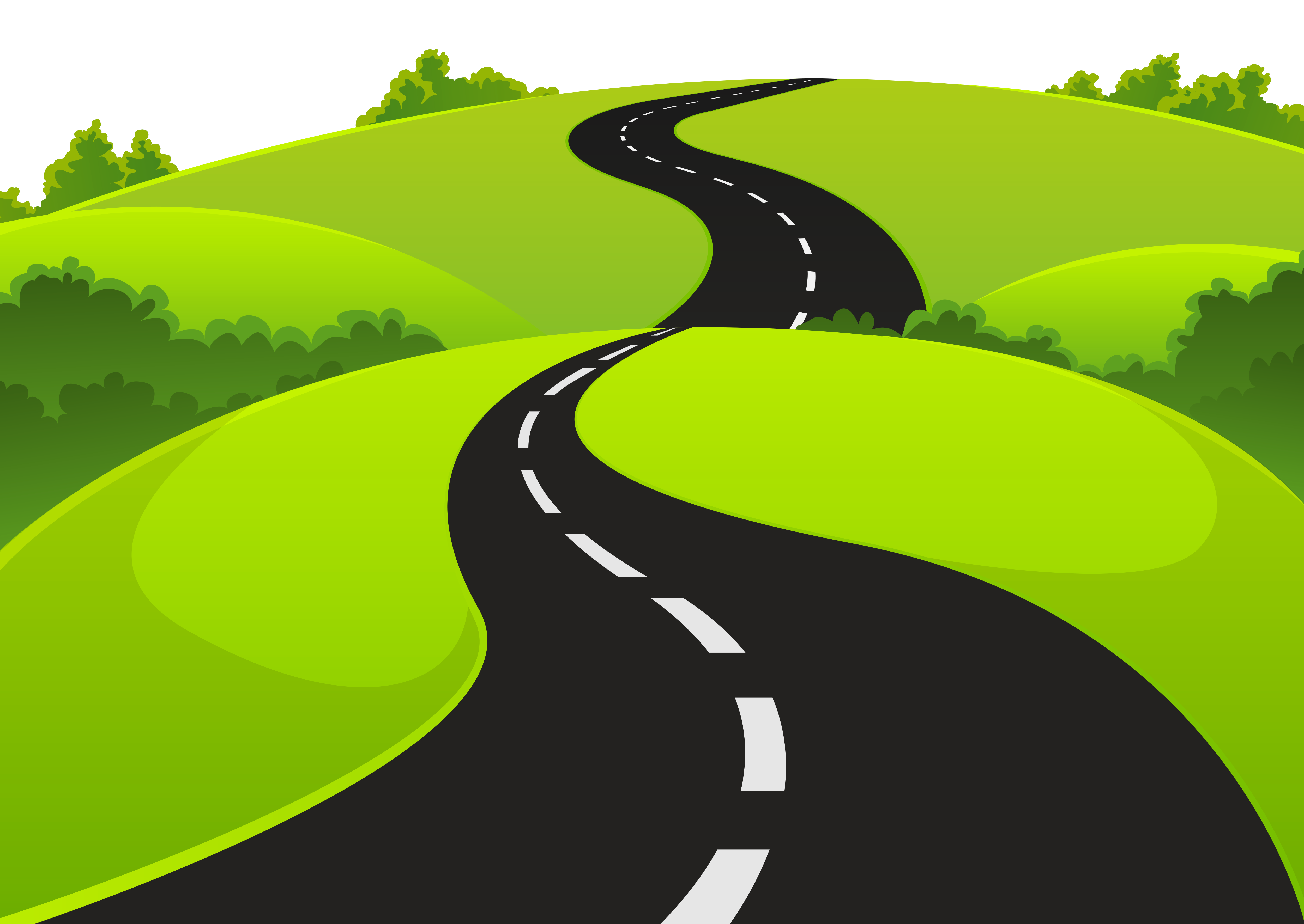 background road clipart 40 - photo #17