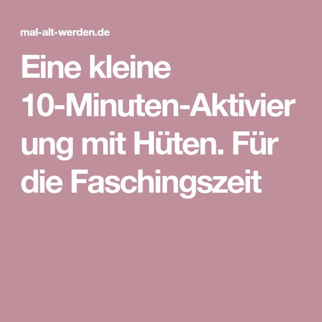 57 10 Min Aktivierung Ideen Sammlung Ideen 10