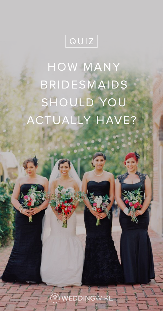 6bf00d494091 #QUIZ: How Many Bridesmaids Should you Actually Have? This quiz is eerily  accurate! Find out your number on @weddingwire! {Michelle March}