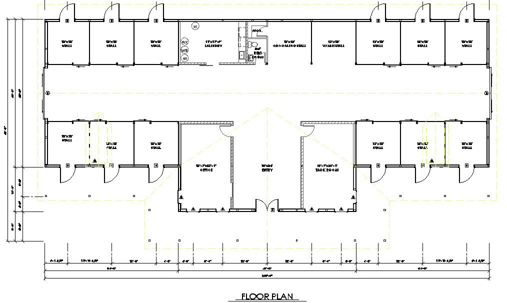 32 1573 Floor Plan barnshouse plans Pinterest Casa