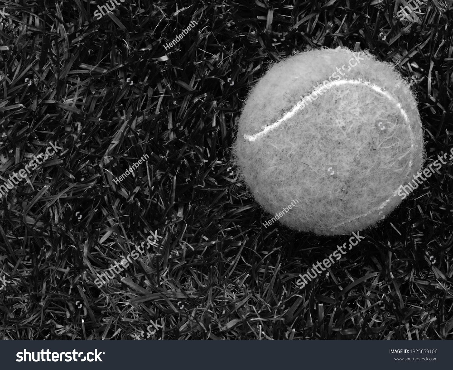 Close Up Of Tennis Ball In Black And White Recreation Sport And Hobby Ad Ad Ball Black Close Tennis Tennis Ball Stock Photos Image