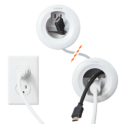In Wall Power Cable Management Kit Egav Cmiwp1 In 2020 Cable Management Wall Hidden Tv Hide Tv Wires