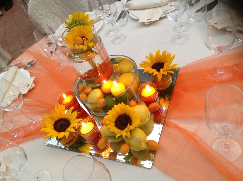 Tavolo matrimonio ~ Come decorare un tavolo rotondo il giorno delle nozze giorno