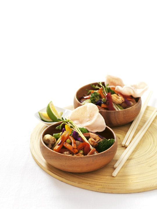 Crazy Prawn & Vegetable Stir-fry Recipe - Quick and easy at countdown.co.nz