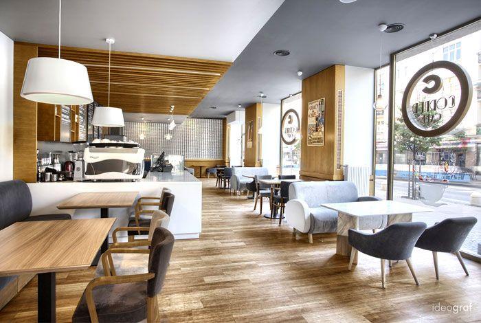 Cafe Corner By Ideograf Restaurant Interieur Cafe Einrichtung Innenarchitektur