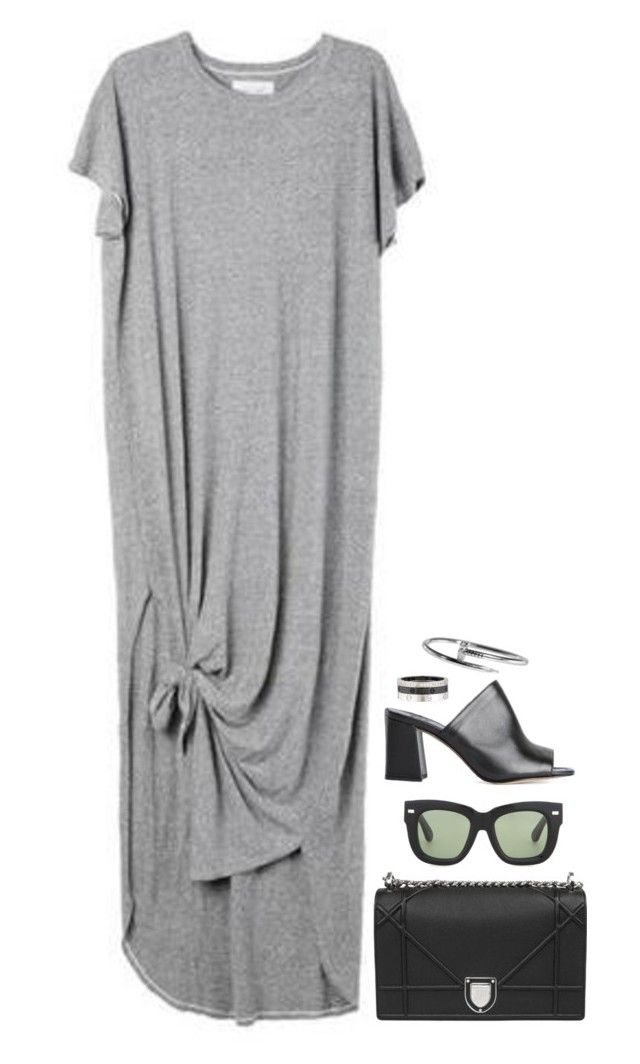 """""""I'm A City Girl"""" by hernamewaslily ❤ liked on Polyvore featuring Acne Studios and Cartier"""