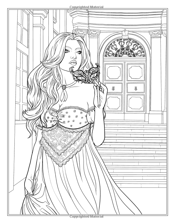 Night Magic Coloring Book | Fantasy Coloring Pages for Adults ...