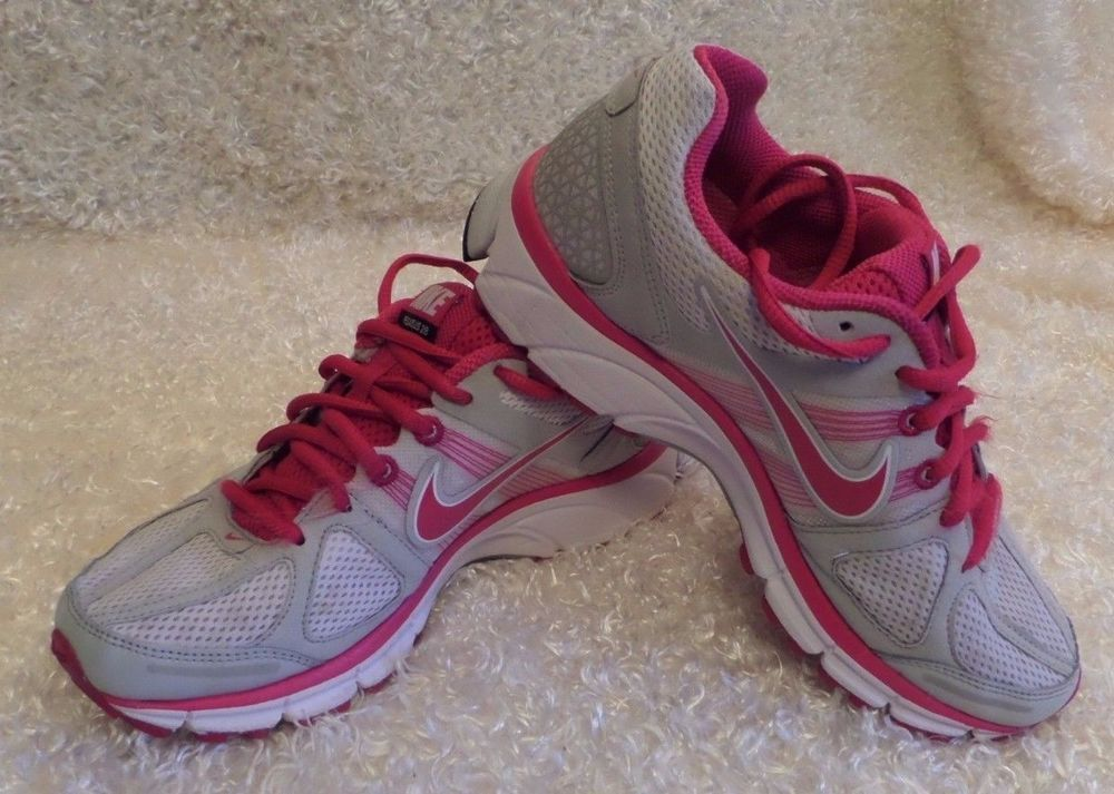 Nike Air Pegasus 28 Cushion Running Shoes 443802-162 Pink,/ White Womens  Size