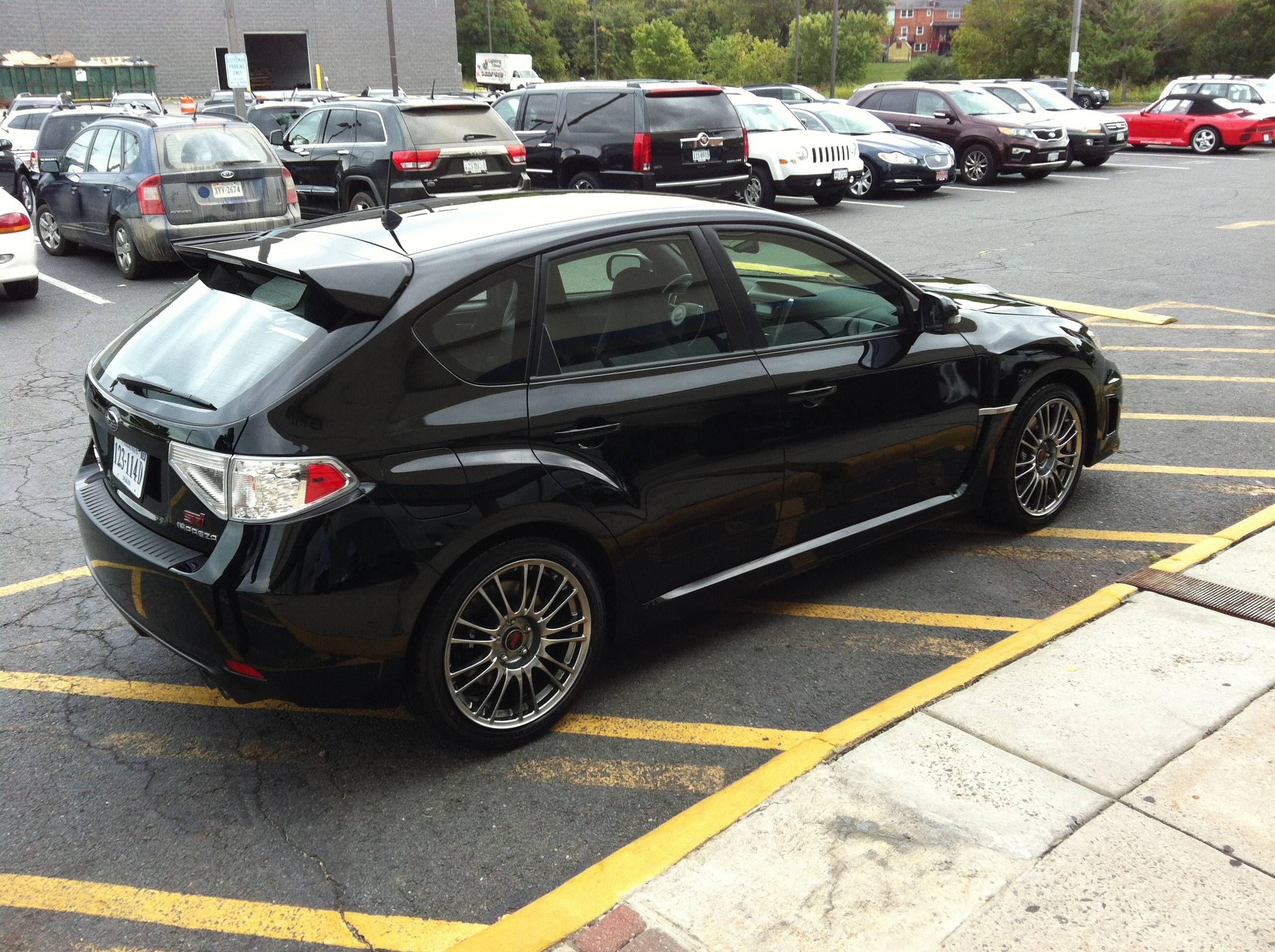 First Subaru Black 13 Sti Hatch Subaru Impreza Wrx Sti Forums