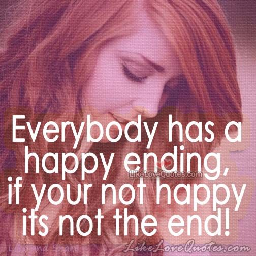 Everybody has a happy ending
