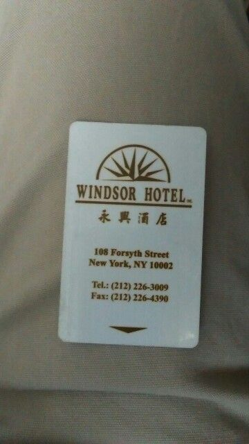 Windsor hotel in China town. Absolutely terrible! Reading reviews really make a difference.