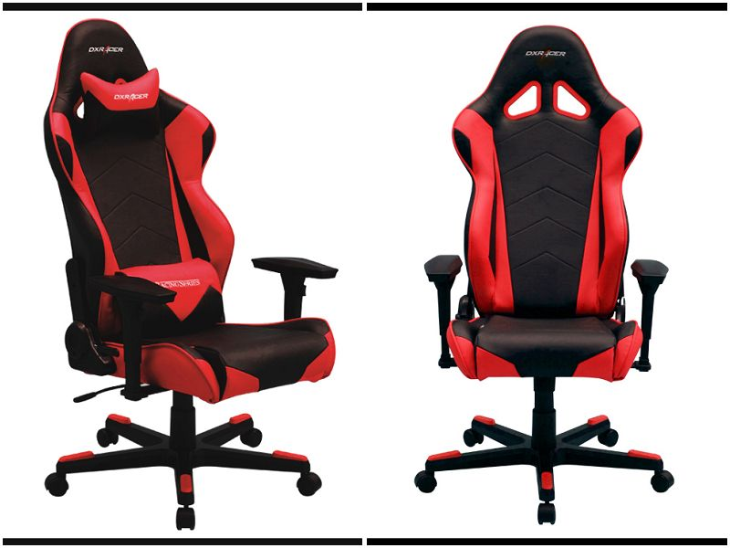 Superb Dxracer Oh Re0 Nr High Back Racing Office Chair Video Rocker Dailytribune Chair Design For Home Dailytribuneorg