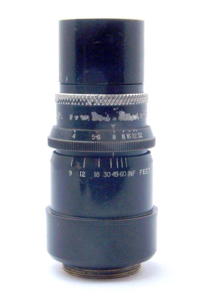 Dallmeyer Popular Telephoto 3   f/4 C-Mount Lens - 16mm Cine or M4/3, Nex etc.
