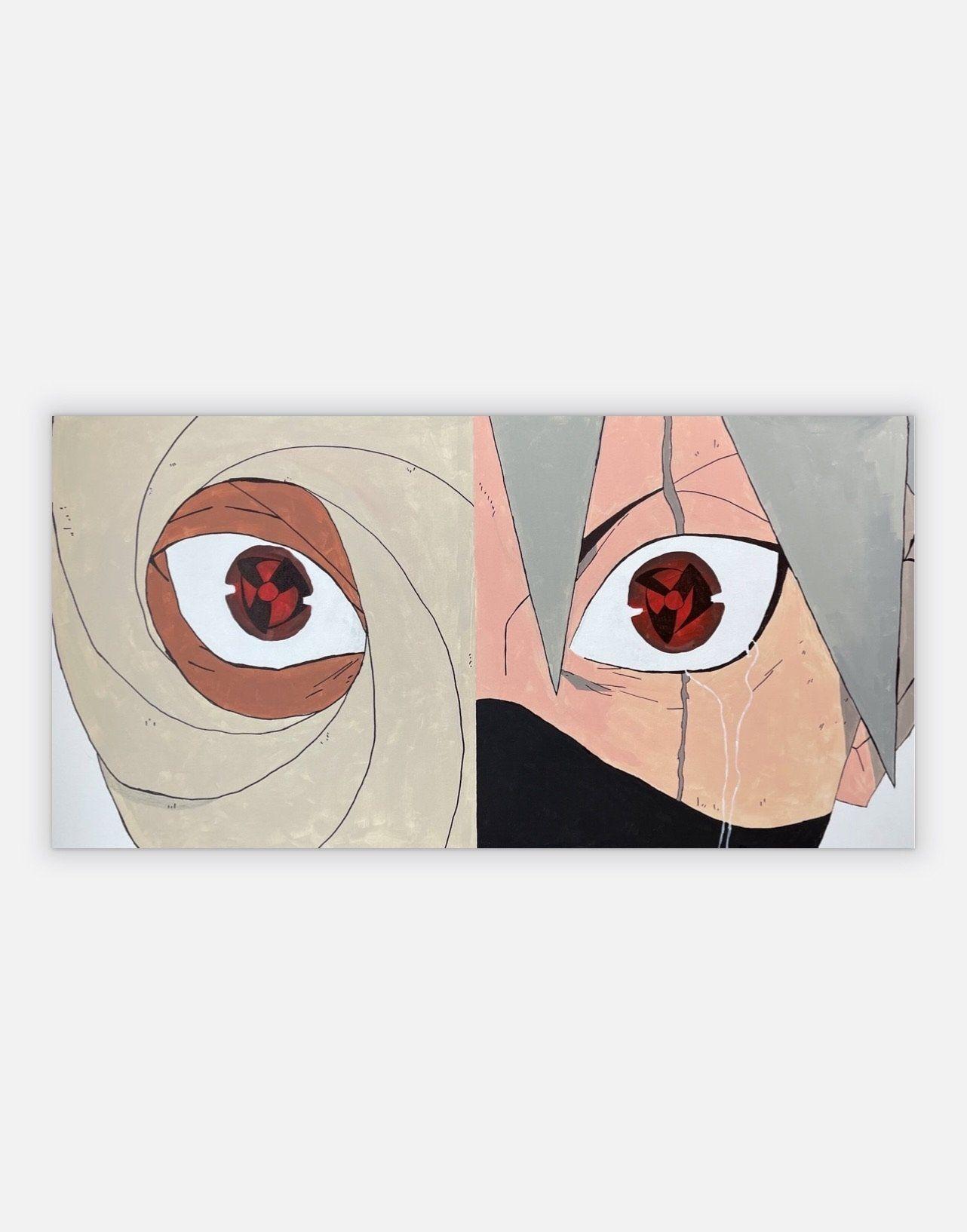 Photo of Obito x Kakashi – Canvas / 48×24